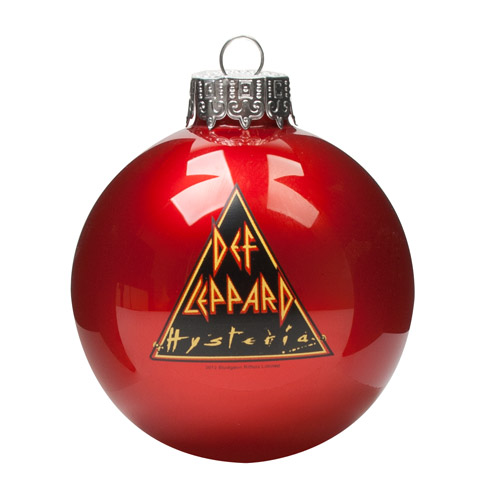 Hysteria Holiday Ornament