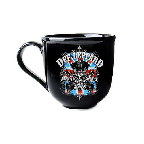Exclusive - Def Leppard Soup Mug