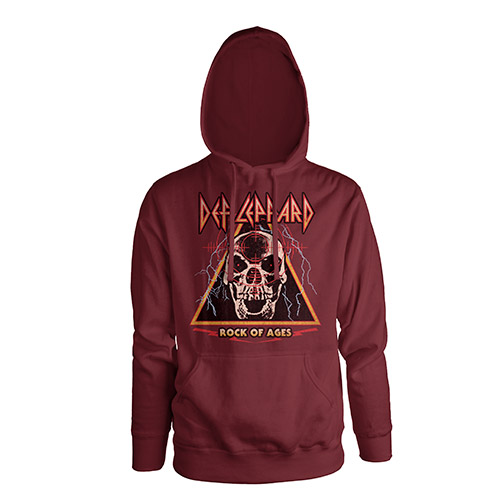 Rock Of Ages Pullover Hoodie