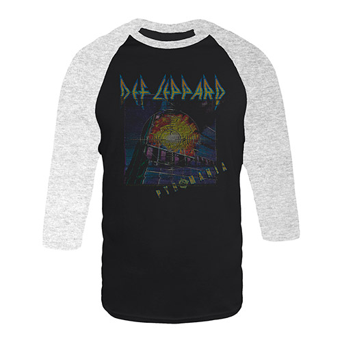 Pyromania Album Cover Raglan