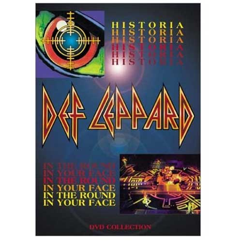 Def Leppard - Historia / In the Round, In Your Face (2001) DVD