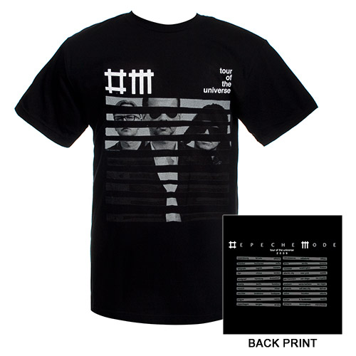 Striped Band Tour Tee