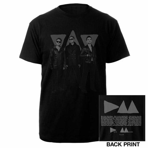 Band Photo Triangle/Itin Black T-shirt