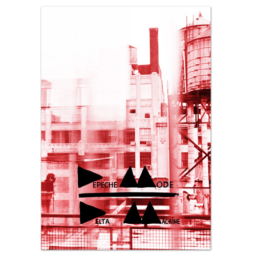 Delta Machine Limited Edition Album Cover Lithograph