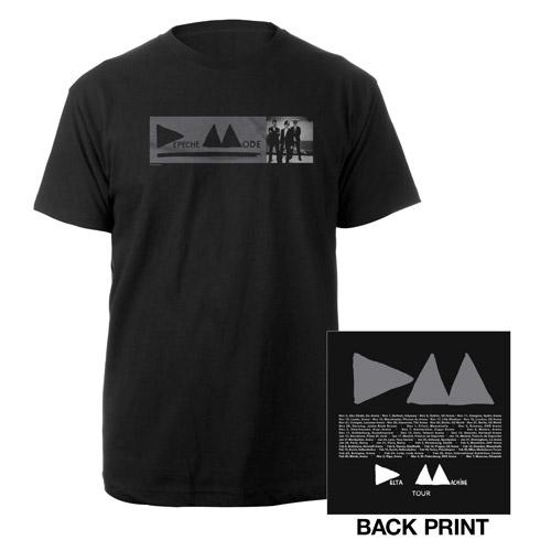 DM Small Photo Black T-Shirt
