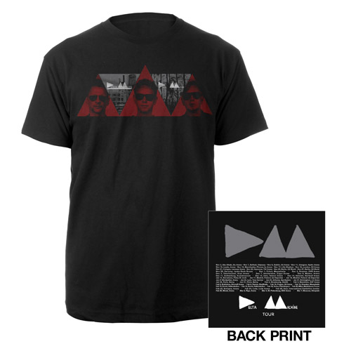 3 Red Triangles T-Shirt
