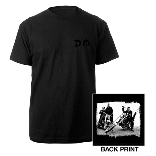 DM/Bike Photo Black T-shirt