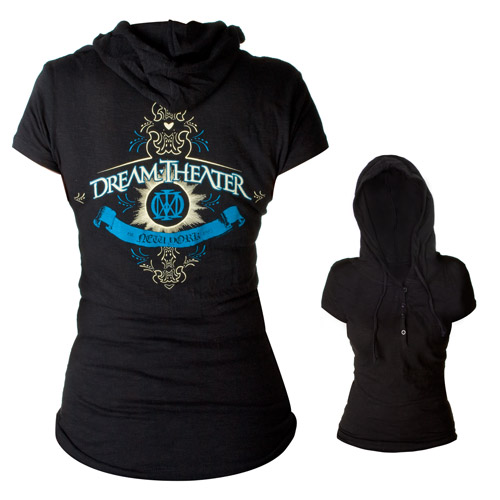 Ladies Hooded Henley