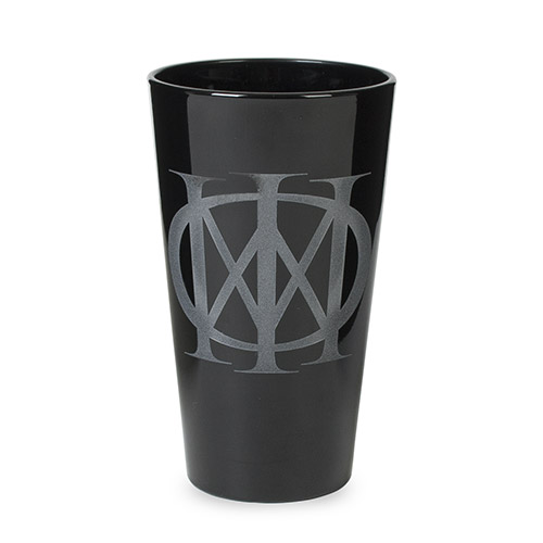 Majesty Frosted Black Pint Glass