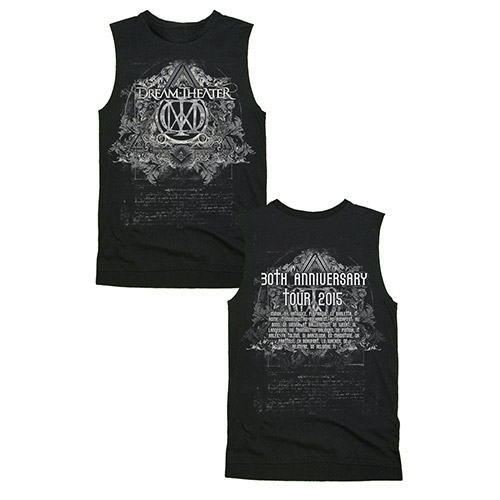 Limited Edition Dream Theater  30th Anniversary Tour Muscle Tee