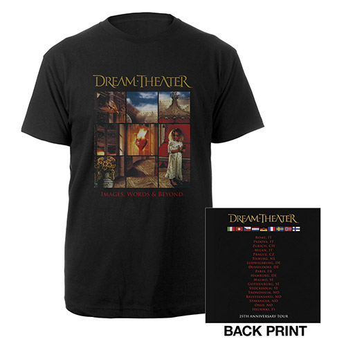 Images and Words 25th Anniversary 2017 EU Tour Tee