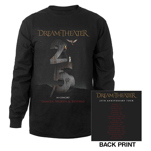 Images and Words 25th Anniversary 2017 EU Tour Longsleeve Tee