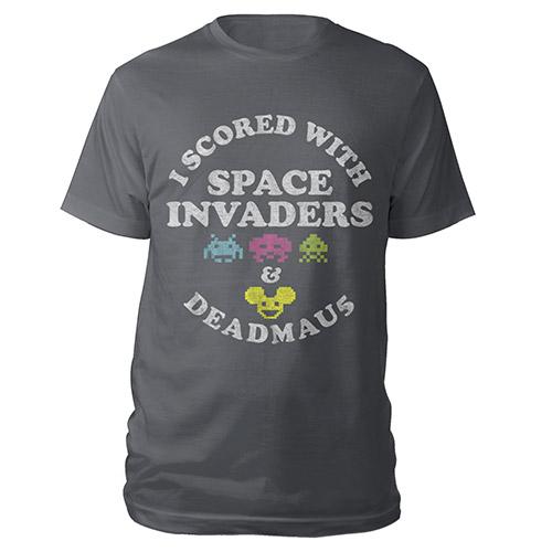 deadmau5 Space Invaders I Scored Tee