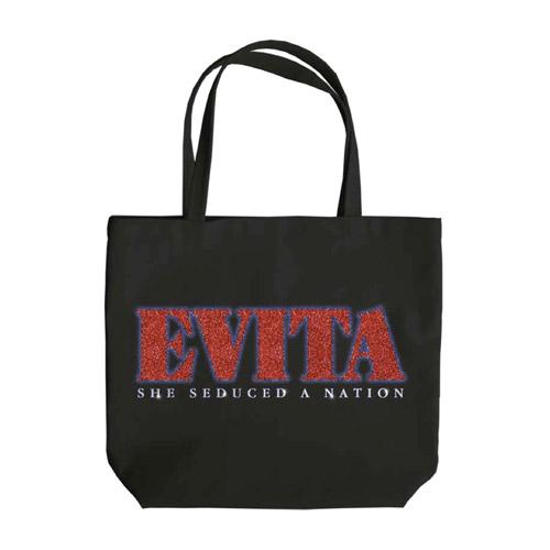 Evita Glitter Logo 2014 Tote Bag