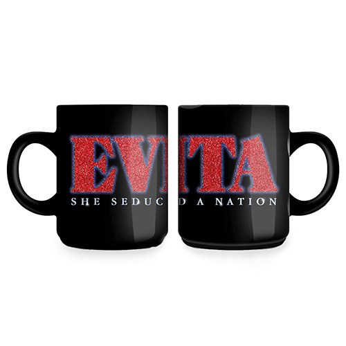 Evita Glitter Logo 2014 Mug