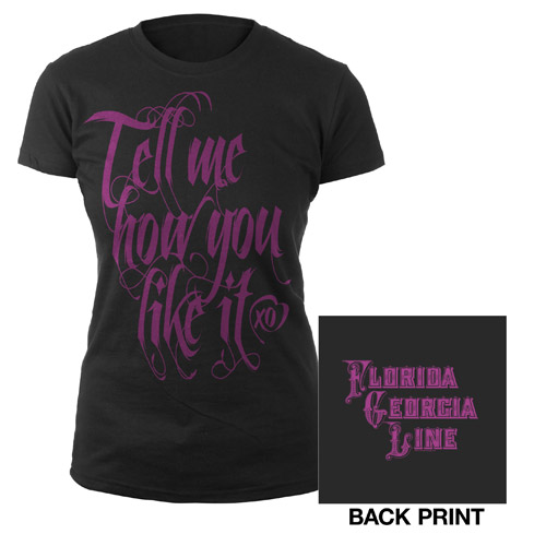 Tell Me How You Like It Jrs. Tee