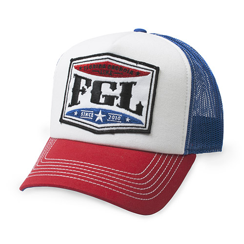 Florida Georgia Line Red White and Blue Hat