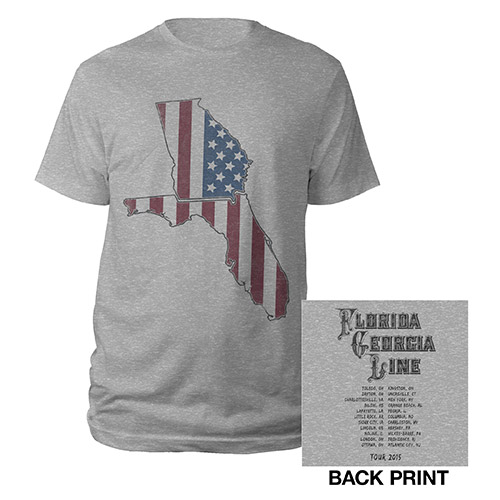 Stars and Stripes States Tour 2015 Tee