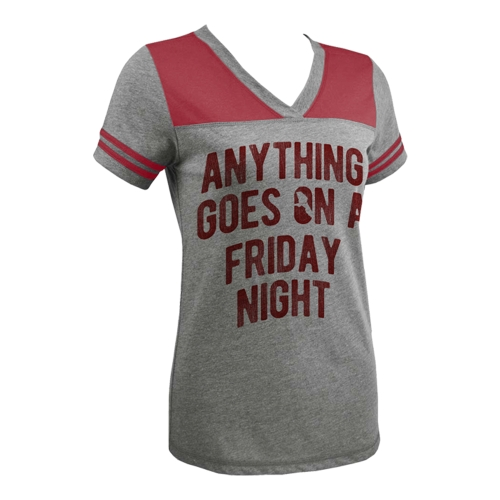 Anything Goes on a Friday Night Ladies Tee