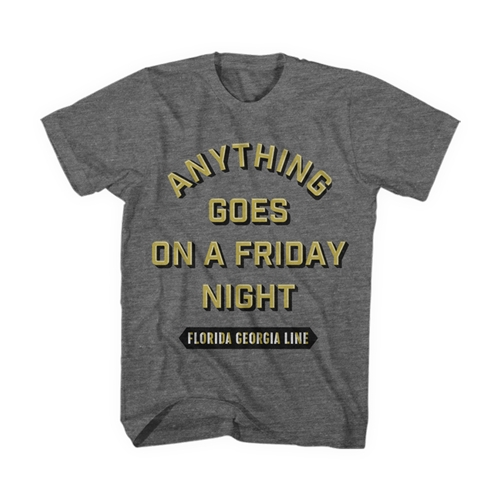 Anything Goes on a Friday Night Tee