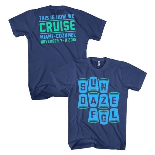SunDaze Cups Cruise Tee