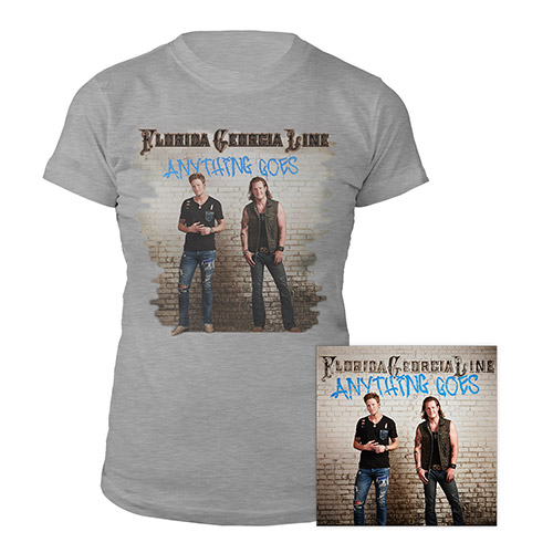 Anything Goes Women's Tee & CD Bundle