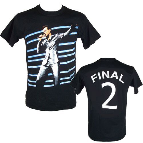 "GM Earls Court ""Final 2"" Event  Black T-shirt"