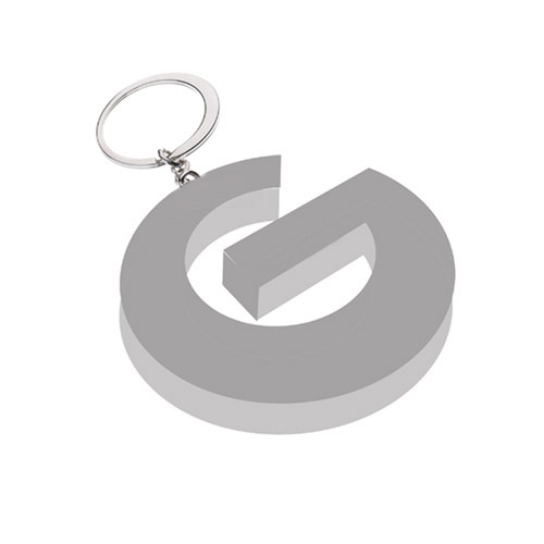 G Logo Metal Keyring