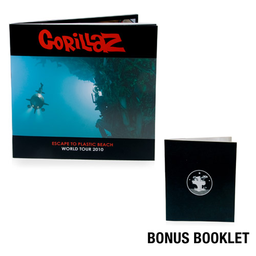 Gorillaz Plastic Beach World Tour Program + Special Bonus Booklet