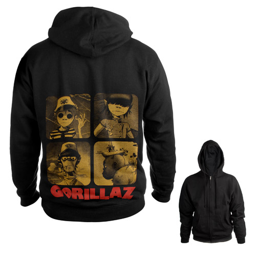 Gorillaz Zip-Up Hoodie