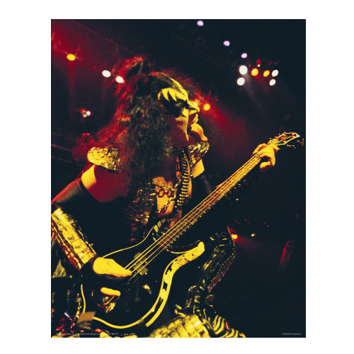 Gene Simmons Photo Print