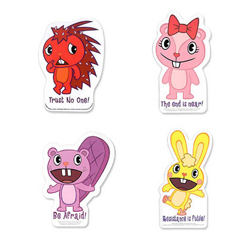 View Larger Happy Tree Friends Sticker Bundle Save 40% when you buy all 4