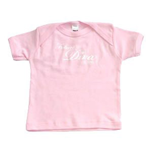 "Il Divo ""Future Diva"" Pink Baby T-shirt"
