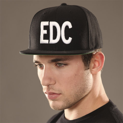 EDC Massiv Hat Black/White