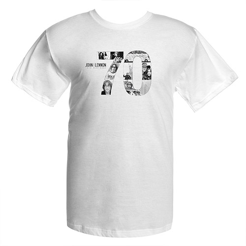 John Lennon 70th Logo Tee