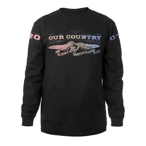 Rainbow Eagle Long-Sleeve T-Shirt