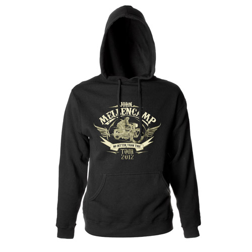 John Mellencamp Motorcycle 2012 Tour Hoody