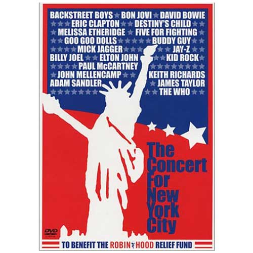 Concert for New York City DVD