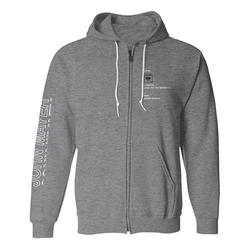 Love on the Weekend Zip Hoodie