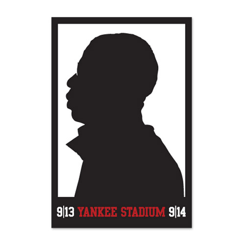 JayZ Yankee Stadium Commemorative Poster