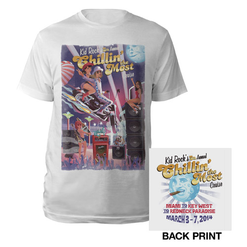 Kid Rock's 5th Annual Chillin' the Most Cruise Tee