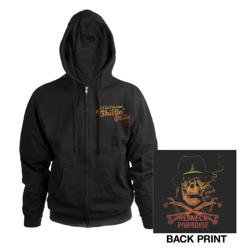 Kid Rock's 5th Annual Chillin the Most Cruise Zip-Up Hoodie
