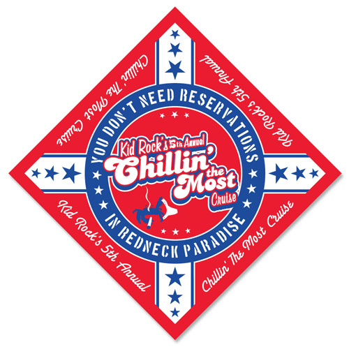 Kid Rock 5th Annual Chillin' The Most 2014 Bandana