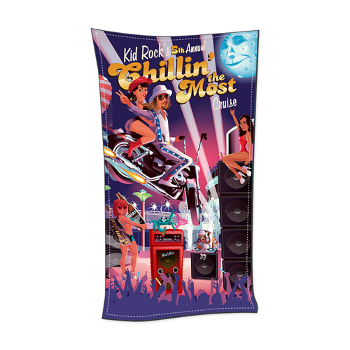 5th Annual Chillin' The Most Beach Towel