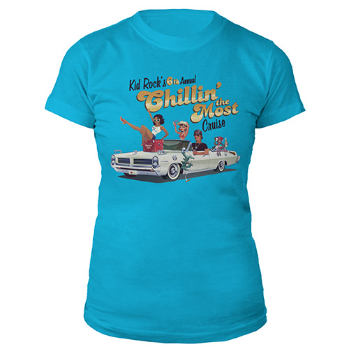 Kid Rock 6th Annual Chillin' the Most Cruise 2015 Jr. Tee