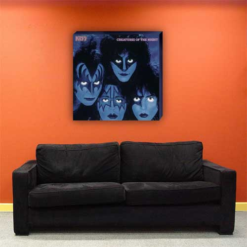Creatures Of The Night Limited Edition Canvas Print