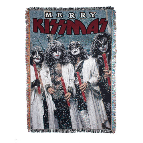 Exclusive - Merry KISSMAS Holiday Throw Blanket