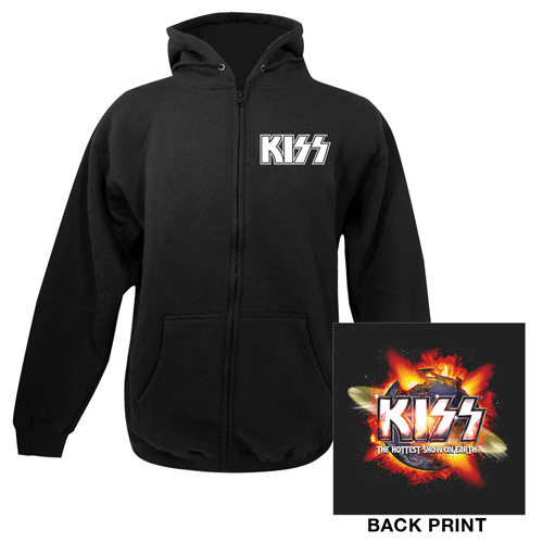 Exclusive - KISS Hottest Show On Earth Zip Up Hoodie