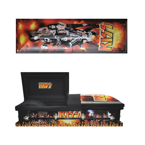 Exclusive - Premium KISS Casket