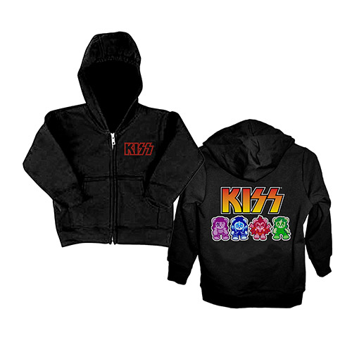 Exclusive - KISS Bears Toddler Hoodie